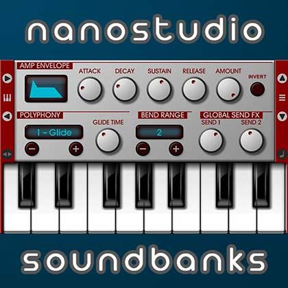 FREE Nanostudio Banks, iPad iPhone TRG-16 & Eden Samples