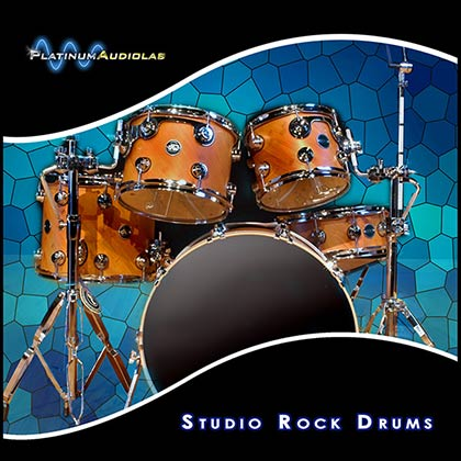 Studio Rock Drums Sample Library