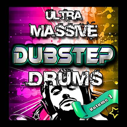 Ultra Massive Dubstep Drums Sample Library