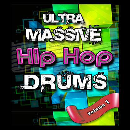 Ultra Massive Hip Hop Drums V1 Sample Library
